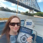 Cassandra Tyndall, on the Brisbane River, Australia